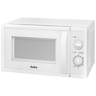 Amica 20L 700W Countertop Microwave in White