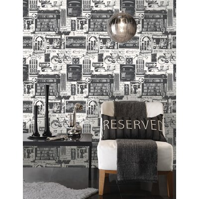 Holden Decor UrbanSights 10.05m L x 53cm W Roll Wallpaper