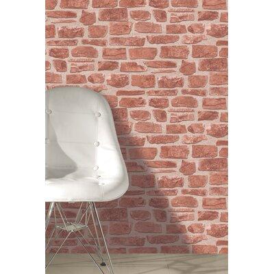 Holden Decor Brickwork 10.05m L x 53cm W Roll Wallpaper
