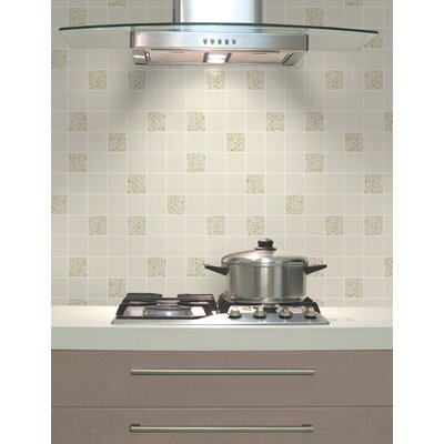 Holden Decor Tiling on a Roll 10.05m L x 53cm W Roll Wallpaper