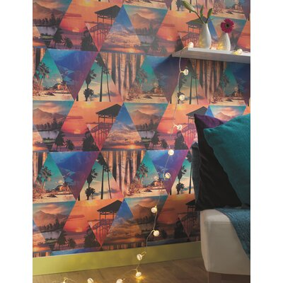 Holden Decor Escape of Paradise 10.05m L x 53cm W Roll Wallpaper