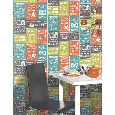 Holden Decor Tiling on a Roll 10.05m L x 53cm W Roll Wallpaper