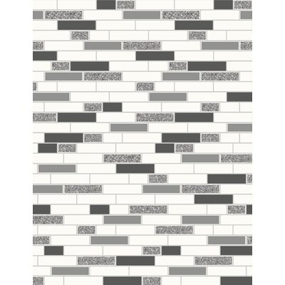 Holden Decor Tiling on a Roll 10.05m L x 53cm W 3D Embossed Roll Wallpaper