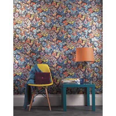 Holden Decor Butterfly Grove 10.05m L x 53cm W Roll Wallpaper
