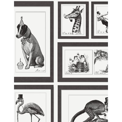Holden Decor Mad Dogs 10.05m L x 53cm W Roll Wallpaper