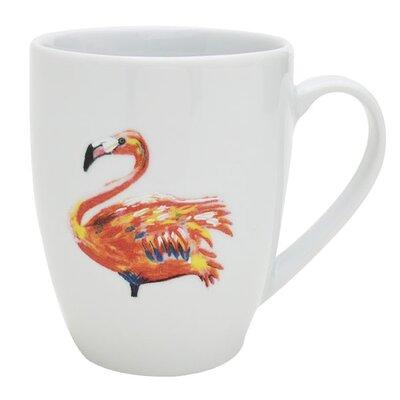 Catchii Birds of Paradise Flamingo Mug