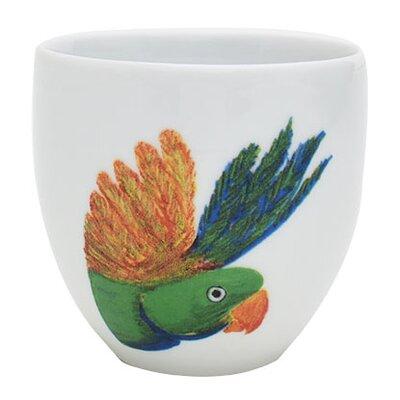 Catchii Birds of Paradise Lovebird Head Coffee Cup