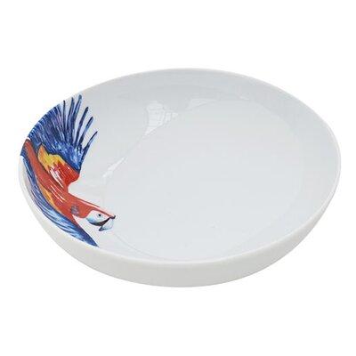 Catchii Birds of Paradise Parrot Head Bowl