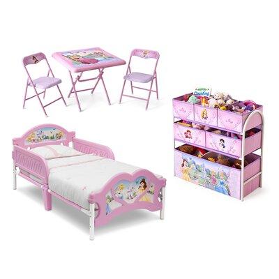 DeltaChildrenUK Princess Panel 5 Piece Bedroom Set