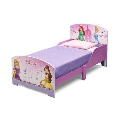 DeltaChildrenUK Princess Twin Convertible Toddler Bed