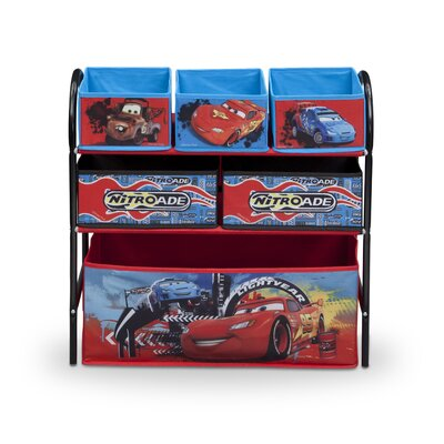DeltaChildrenUK Cars Toy Organizer