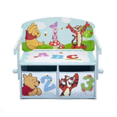 DeltaChildrenUK Winnie The Pooh Toy Storage Bench