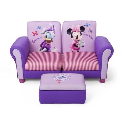 DeltaChildrenUK Minnie Children's Sofa and Ottoman
