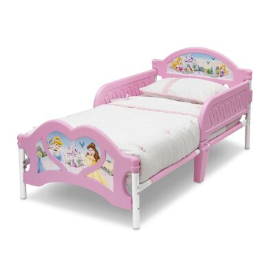 DeltaChildrenUK Princess 3D Twin Convertible Toddler Bed