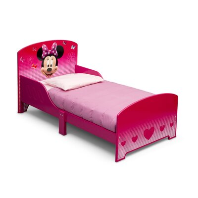 DeltaChildrenUK Minnie Twin Convertible Toddler Bed