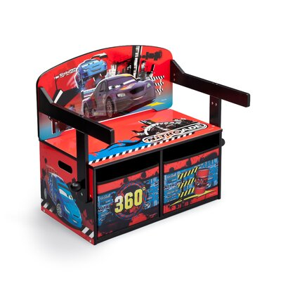 DeltaChildrenUK Cars Toy Storage Bench