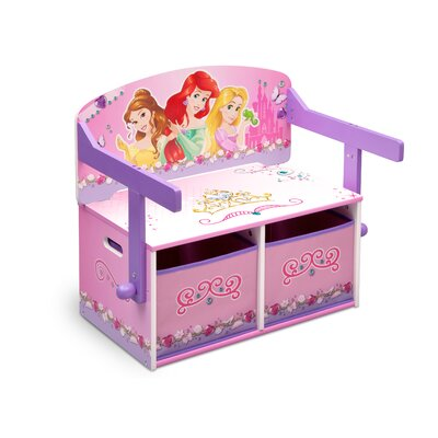 DeltaChildrenUK Princess Toy Storage Bench