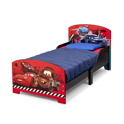 DeltaChildrenUK Cars Twin Convertible Toddler Bed