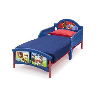 DeltaChildrenUK Paw Patrol Twin Convertible Toddler Bed