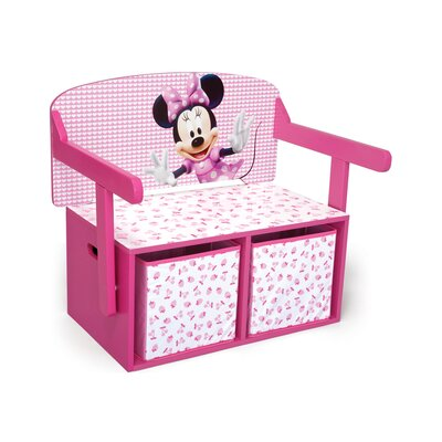 DeltaChildrenUK Minnie Toy Storage Bench