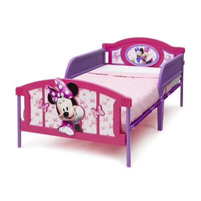 DeltaChildrenUK Minnie 3D Twin Convertible Toddler Bed