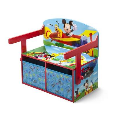 DeltaChildrenUK Mickey Toy Storage Bench