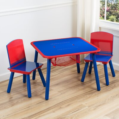 DeltaChildrenUK Children 3 Piece Square Table and Chair Set