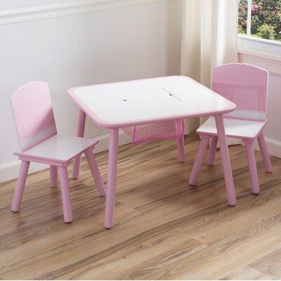 DeltaChildrenUK Children 3 Piece Square Table and Chair Set
