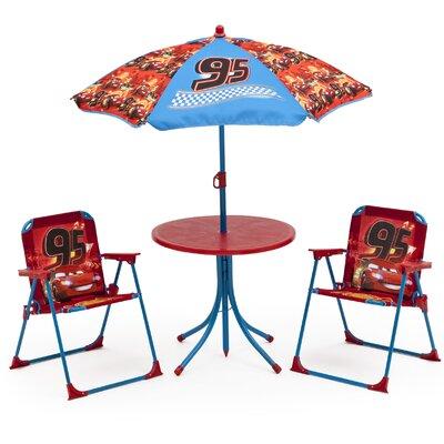 DeltaChildrenUK Children 4 Piece Round Table and Chair Set