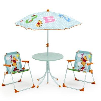 DeltaChildrenUK Winnie the Pooh Children 4 Piece Round Table and Chair Set