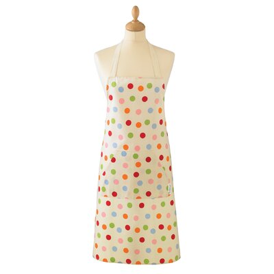 Cooksmart Spots Cotton Apron