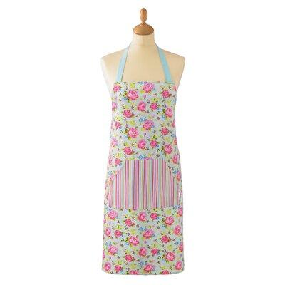 Cooksmart Vintage Floral Cotton Apron