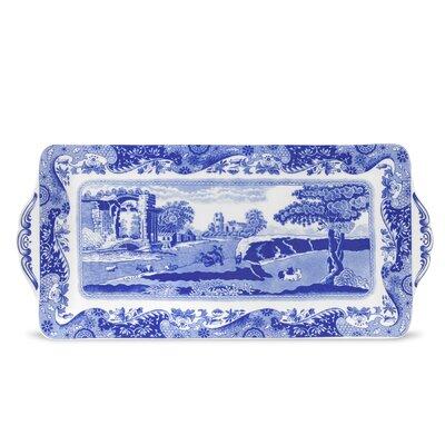 Spode Blue Italian Sandwich Tray