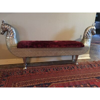 Morristown Wood Storage Bench