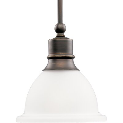 Gradall 1-Light Cone Pendant Finish: Antique Bronze