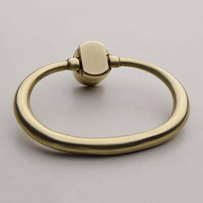 Large Oval Ring Pull Finish: Semi Bright