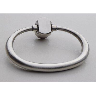 Large Oval Ring Pull Finish: Satin Nickel