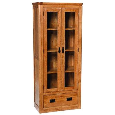 Hallowood Furniture London Solid Oak Display Cabinet