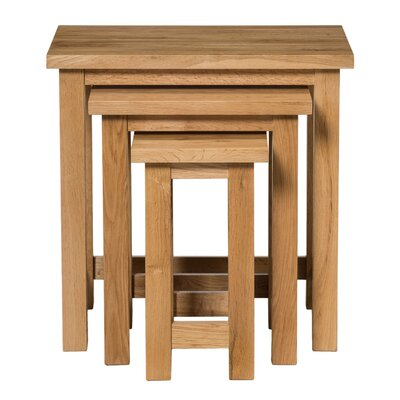 Hallowood Furniture New Waverly 3 Piece Nest of Tables