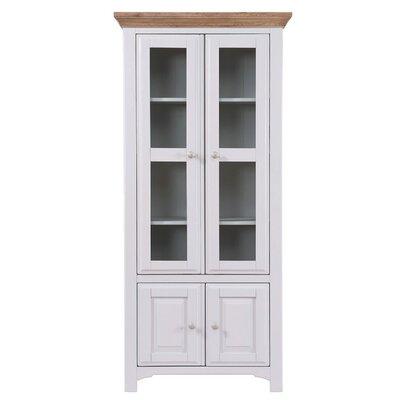 Hallowood Furniture Devon Display Cabinet