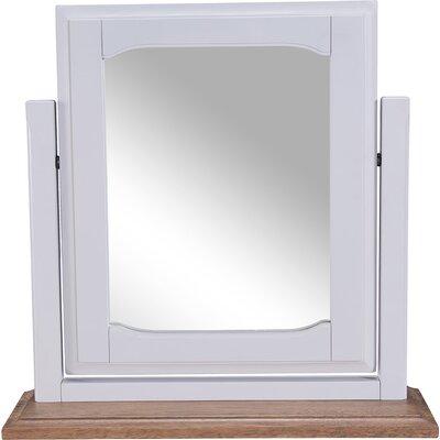 Hallowood Furniture Devon Rectangular Dressing Table Mirror