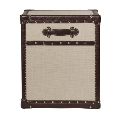 Hallowood Furniture Expedition Small Storage Trunk