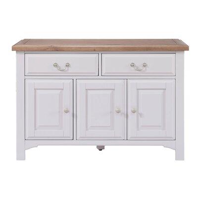 Hallowood Furniture Devon 3 Door 2 Drawer Sideboard