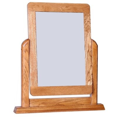 Hallowood Furniture London Rectangular Dressing Table Mirror