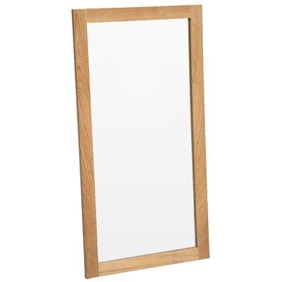 Hallowood Furniture Camberley Oak Large Wall Mirror