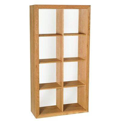 Hallowood Furniture Camberley Oak 4 by 3 Hole Cube Shelf