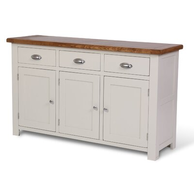 Hallowood Furniture Ascot 3 Door 3 Drawer Sideboard