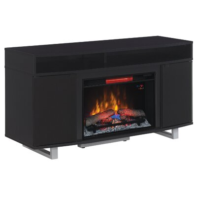 """ClassicFlame Enterprise TV Cabinets for TVs up to 65"""" with Electric Fireplace"""