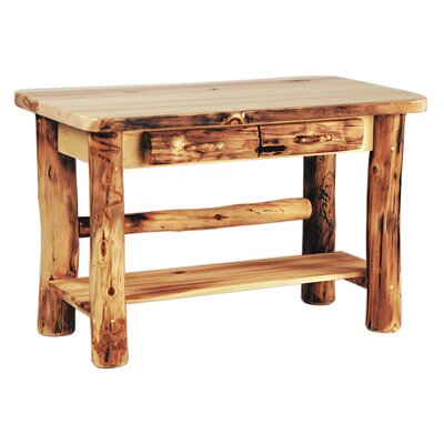 Aspen Heirloom Console Table Color: Beeswax / Linseed Oil