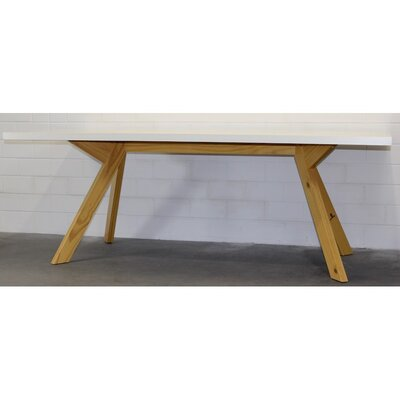 Langer Naturholzmöbel Beistelltisch Caruaru